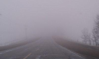 Cod galben de ceaţă în 12 județe și de viscol în cinci. Vizibilitatea scade și sub 50 de metri