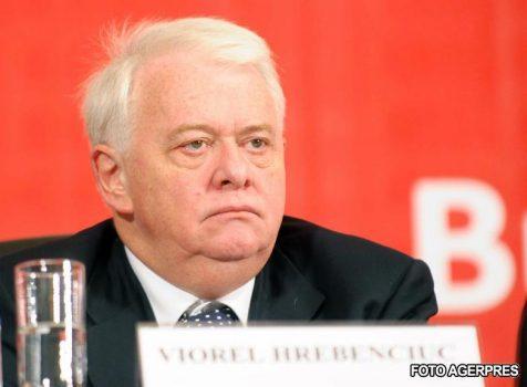 LOVITURĂ! Viorel Hrebenciuc, condamnat definitiv la 3 ani de închisoare cu executare 3