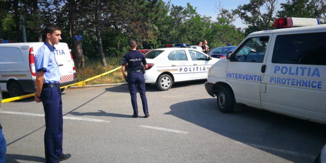 Newsbucuresti.ro: O mașină de poliție s-a răsturnat în București. În autospecială se aflau două persoane arestate! FOTO 68