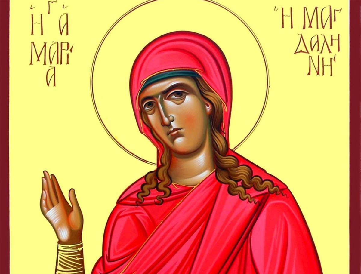 Calendar creștin-ortodox 22 iulie 2018. Sf. Mironosiţă şi întocmai cu Apostolii Maria Magdalena; Sf. Cuv. Mc. Marcela