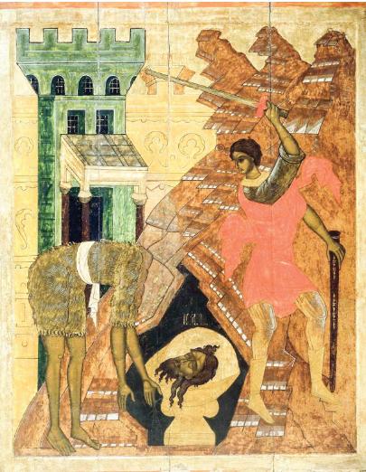 Calendar creștin-ortodox 29 august 2018. Tăierea capului Sfântului Proroc Ioan Botezătorul (Post)