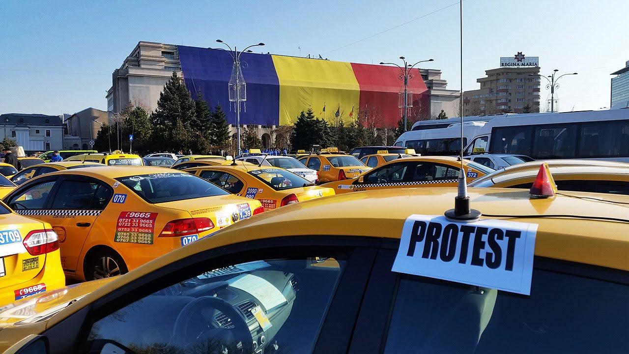 ALERTĂ! Protest cu 100 de TIR-uri la Bucureşti. Ce nemulţumiri au transportatorii 11