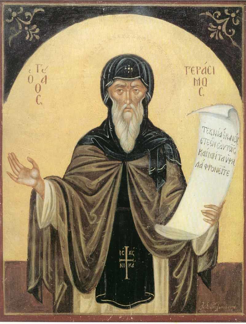 Calendar creștin-ortodox. 20 octombrie 2018.Sfântul Gherasim din Kefalonia; Sfântul Mucenic Artemie