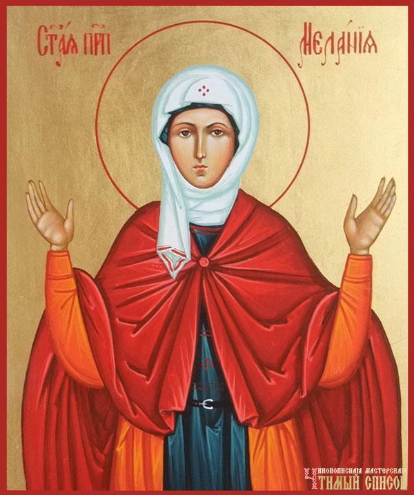 Calendar creștin-ortodox 31 decembrie 2019. Sfânta Cuvioasă Melania Româna 21