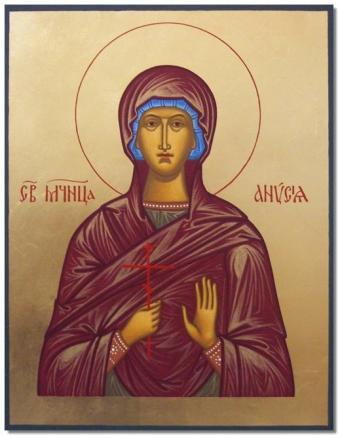 Calendar creștin-ortodox 30 decembrie 2019. Sfânta Muceniță Anisia 25