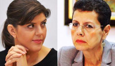 Laura Codruța Kovesi îi dă Decisiva Adinei Florea. Cerere de ultimă oră a fostei șefe a DNA