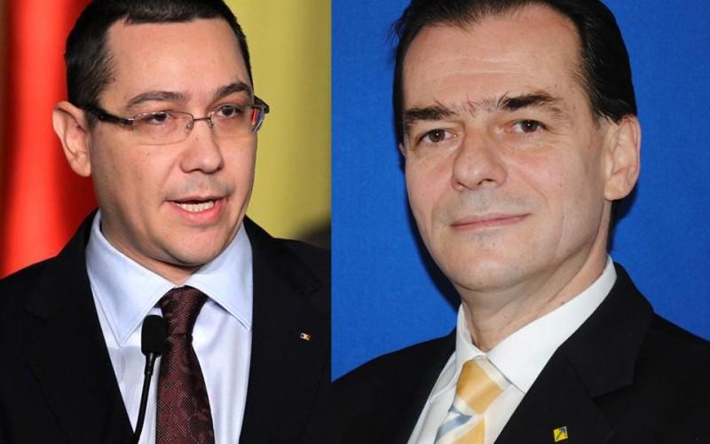 ȘOC! Victor Ponta îl vrea pe Ludovic Orban la pușcărie. Cere deschiderea unui dosar penal