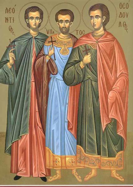 Calendar creștin-ortodox,18 iunie,2021. Sfinții Mucenici Leontie, Ipatie și Teodul 19