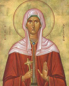 Calendar creștin-ortodox, 24 iulie, 2021. Sfânta Hristina 14