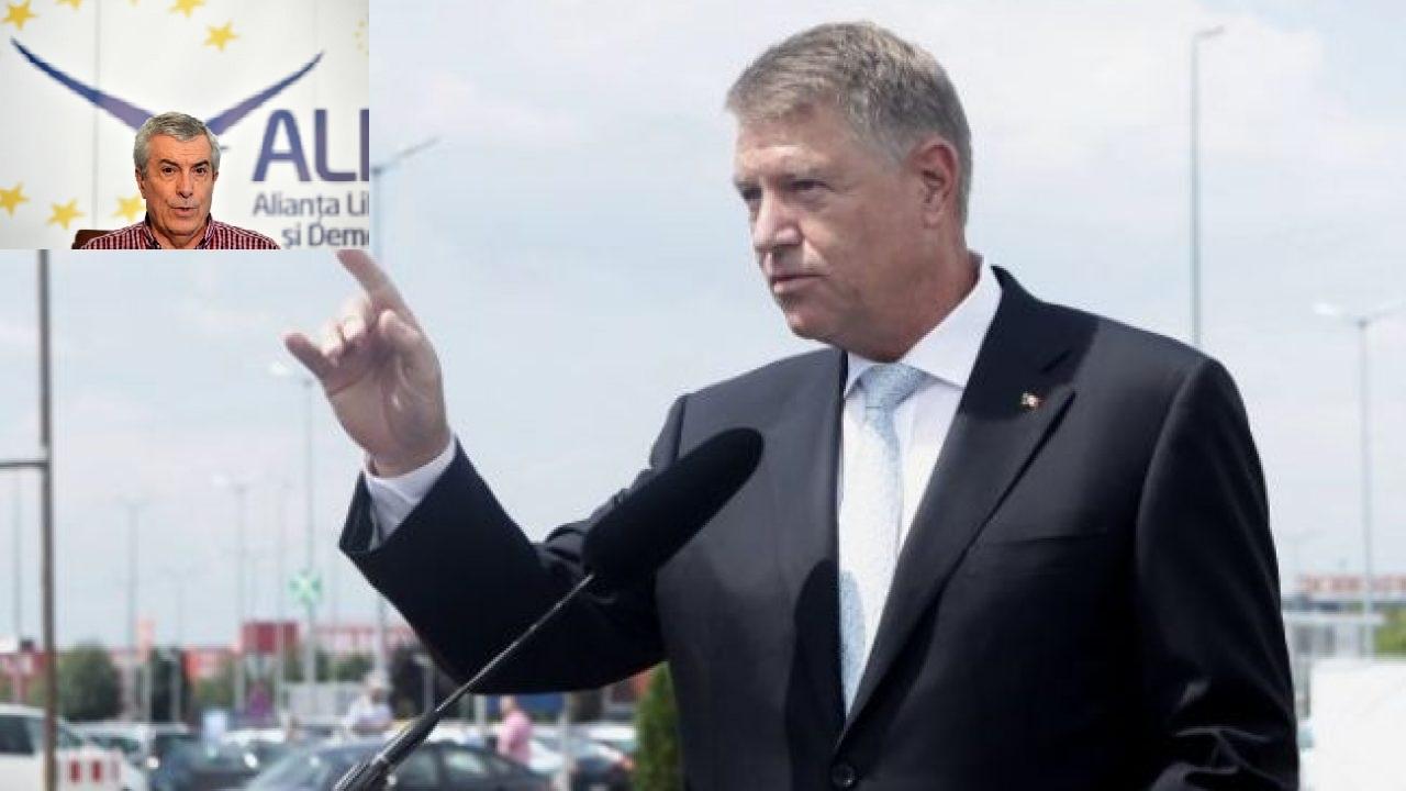 Iohannis îi dă o lovitură cruntă lui Tăriceanu. Liderul ALDE iese total din scenă. DOVADA 5