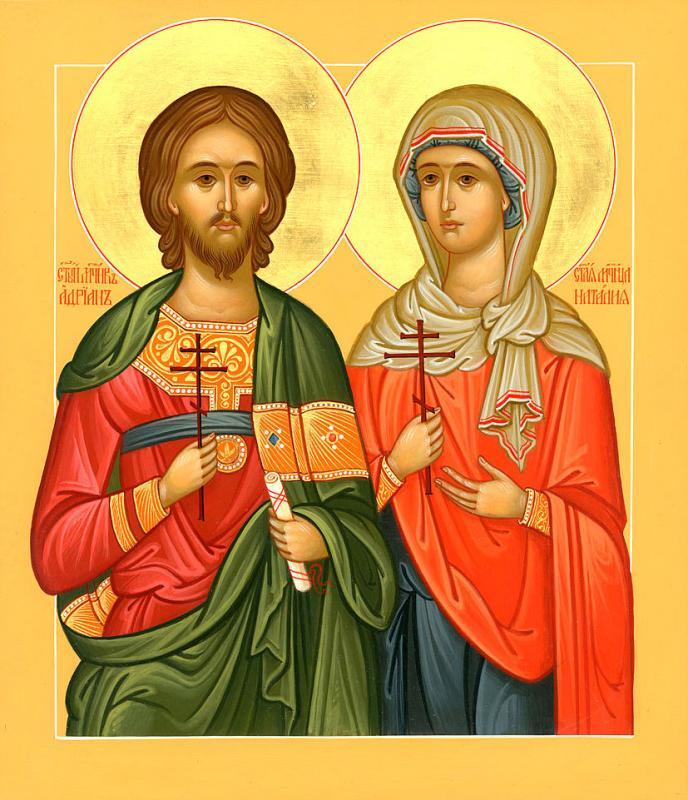 Calendar creștin-ortodox 26 august 2019. Sfinții Adrian și Natalia