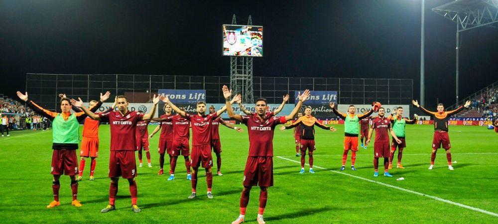 CFR Cluj în prima manşă a play-off-ului Ligii Europa, scor 0-4 cu Steaua Roşie Belgrad 25