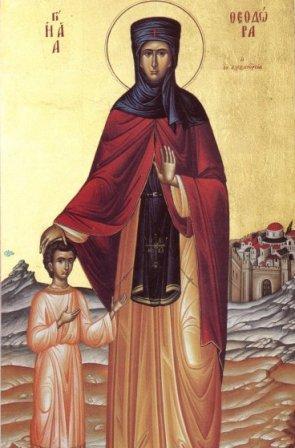 Calendar creștin-ortodox, 11 septembrie, 2021. Sfânta Teodora din Alexandria; Sfântul Eufrosin bucătarul 2