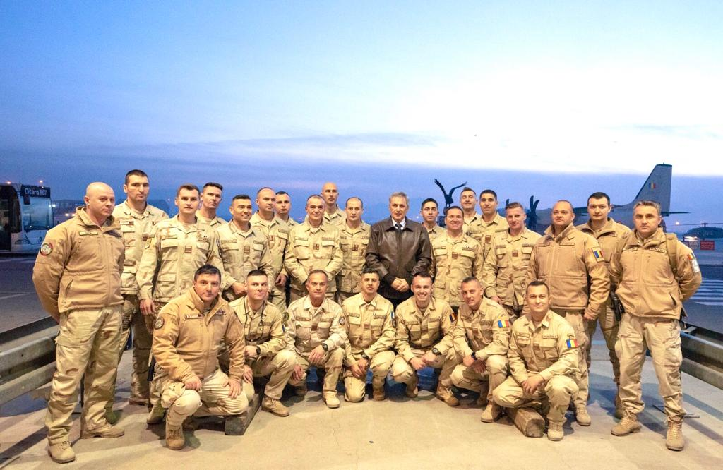 Miniștrii de interne și al apărării în vizită la militarii românii din Afganistan 33