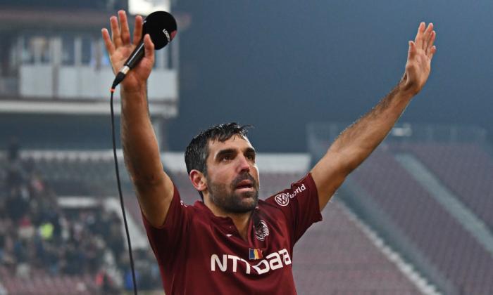 Emmanuel Culio a plecat de la CFR Cluj. Mesaj emoționant pentru fani la ultima sa aparație pe gazon 31