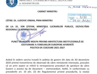 ALERTĂ. Documentul Exploziv care vorbește despre ruperea României. Ministrul Ion Ștefan a fost respins de Parlament 2