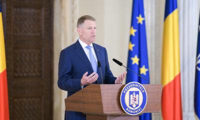 Preşedintele Klaus Iohannis efectuează, miercuri şi joi, o vizită de lucru în Estonia 12