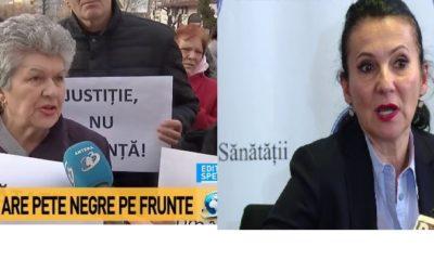 """INCREDIBIL. Soțul Sorinei Pintea a scos oamenii în stradă. Protest împotriva justiției. """" Nu o Ucideți"""""""