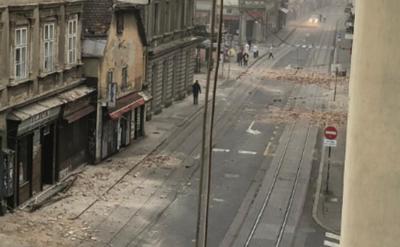 Cutremure de magnitudinea 5,3 şi 5,0 la Zagreb, soldate cu pagube materiale importante. FOTO 2