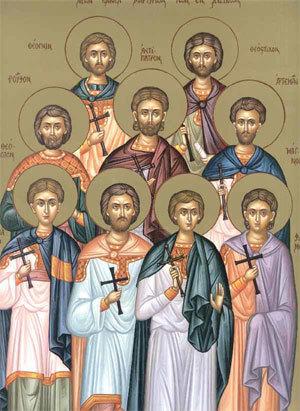 Calendar creștin-ortodox 29 Aprilie 2020! Sfinții Mucenici din Cizic 1
