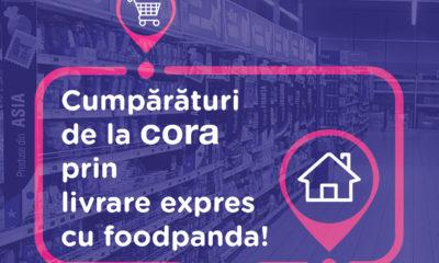 cora România și foodpanda au încheiat un parteneriat pentru livrări rapide la domiciliul clienților 8
