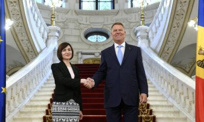 Klaus Iohannis se întâlnește cu Maia Sandu. Prima vizită la Chișinău a unui președinte de stat după alegerile prezidențiale din Republica Moldova 6