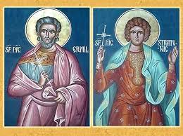 Calendar creștin-ortodox, 13 ianuarie, 2021. Sfinții Mucenici Ermil și Stratonic 1