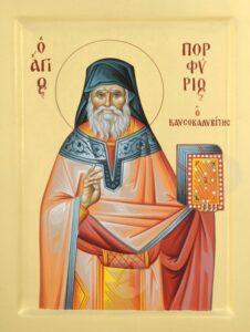Calendar creștin-ortodox,26 februarie, 2021. Sfântul Porfirie, Sfânta Fotini,samarineanca 6