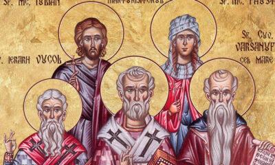 Calendar creștin-ortodox, 6 februarie, 2021. Sfinții Varsanufie cel Mare; Ioan Profetul, Vucol și Fotie 16