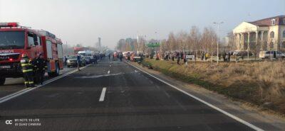 ALERTĂ! Accident grav în Giurgiu! Un mort, trei persoane încarcerate. Imagini Șocante 16