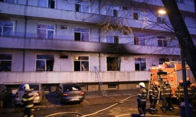 """TRAGEDIE! Încă un deces în urma incedndiului de la """"Matei Balș""""! 13 MORȚI 6"""