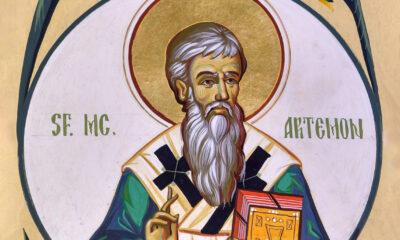 Calendar creștin-ortodox, 13 aprilie, 2021. Sfântul Mucenic Artemon 17