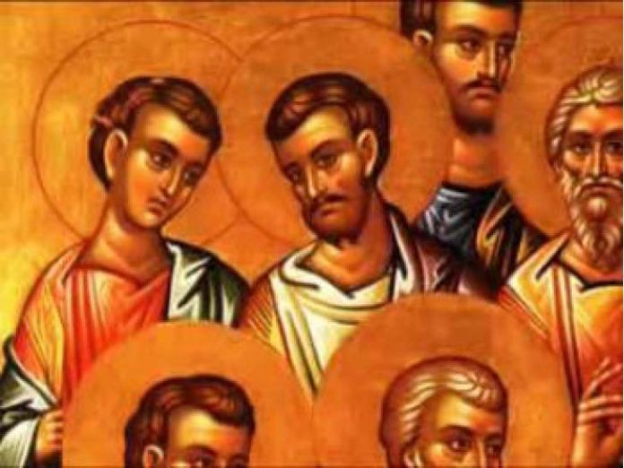 Calendar creștin-ortodox,8 aprilie,2021. Pomenirea Sfinților Apostoli Irodion, Agav și Ruf 1