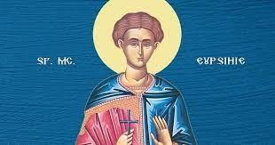 Calendar creștin-ortodox, 9 aprilie, 2021. Sfântul Mucenic Eupsihie 26