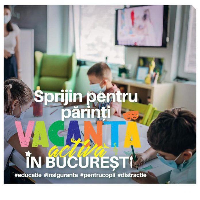 """Newsbucuresti.ro. Cum îți poți înscrie copilul în programul """"Vacanță activă în București"""", demarat de PMB 1"""