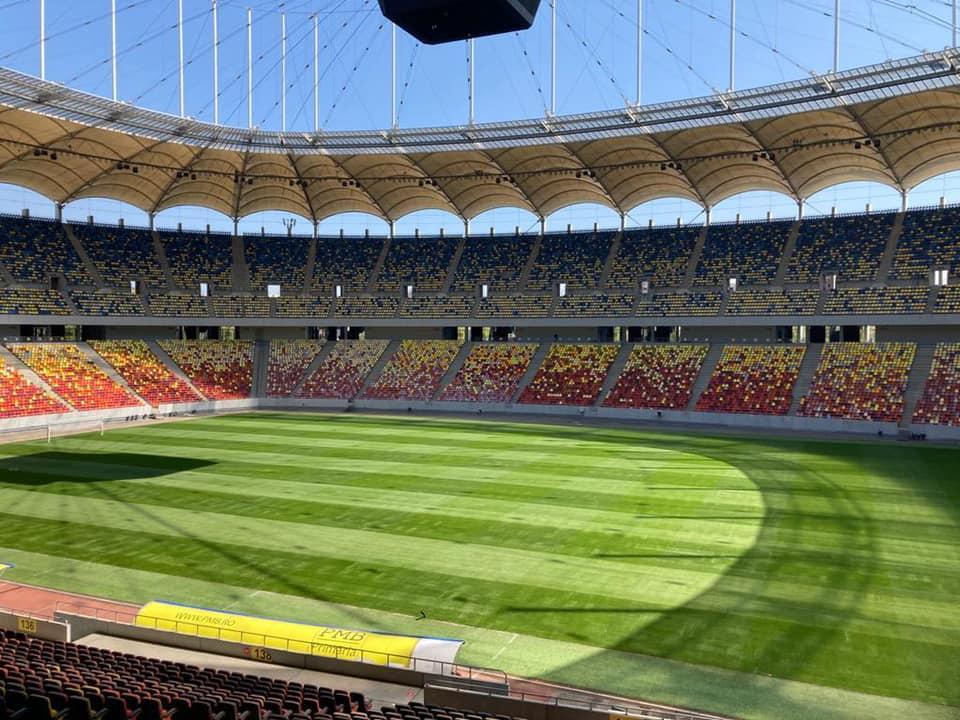 Newsbucuresti.ro: A fost montat noul gazon de pe Arena Naţională 1
