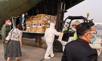 Newsbucuresti.ro:Echipamentele medicale trimise Indiei au ajuns la New Delhi. FOTO 6