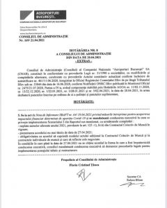 Newsbucuresti.ro: Acuzații GRAVE la adresa conducerii Aeroporturi București(CNAB): Angajații amenințați cu restructurarea dacă nu renunță la drepturile lor! DOCUMENTE! 16