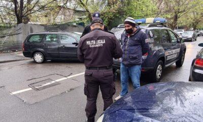 Newsbucuresti.ro: Zeci de parcagii din centrul Capitalei, amendați de Poliția Locală 17