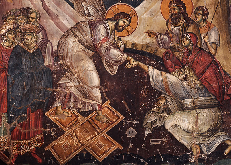 Calendar creștin-ortodox, 1 mai, 2021. Coborârea la iad a Mântuitorului 1