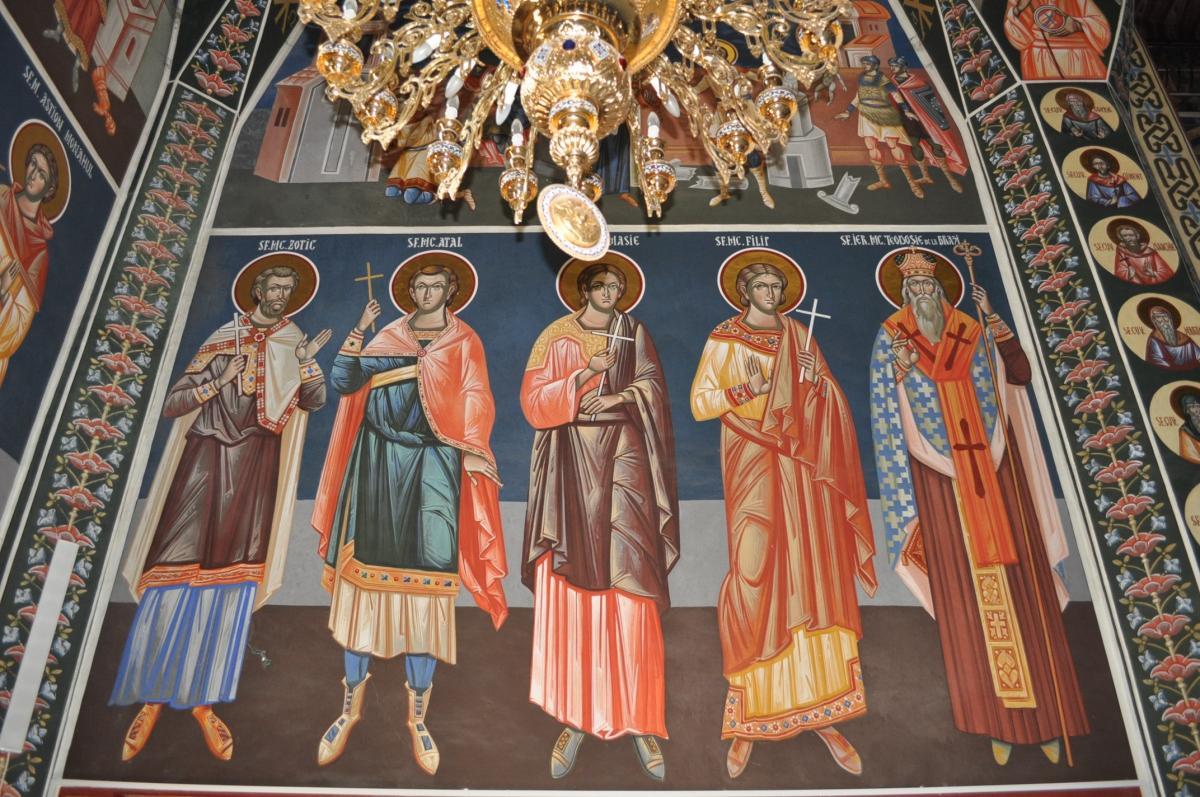 Calendar creștin-ortodox, 4 iunie, 2021. Sfinții Zotic, Atal, Camasis și Filip de la Niculițel 1