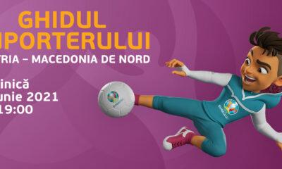 Ghidul suporterului pentru meciul Austria – Macedonia de Nord 21