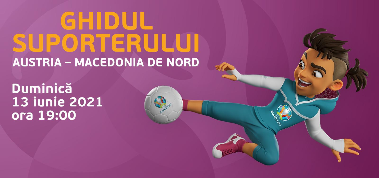Ghidul suporterului pentru meciul Austria – Macedonia de Nord 1