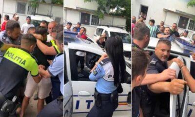 Newsbucureti.ro: Sute de oameni în stradă, în Ferentari, după ce poliţiştii au încătuşat tineri care făceau grătar 25