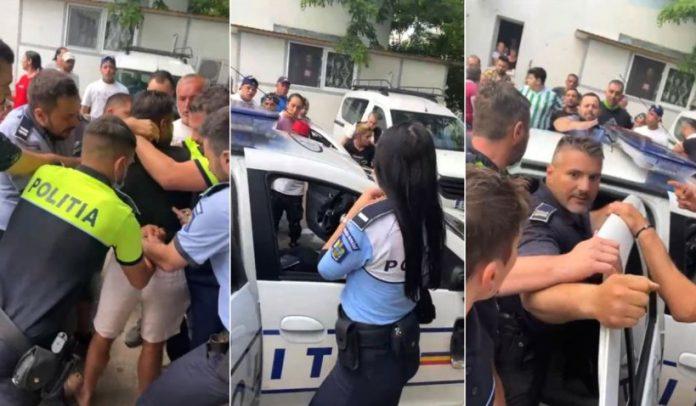 Newsbucureti.ro: Sute de oameni în stradă, în Ferentari, după ce poliţiştii au încătuşat tineri care făceau grătar 1