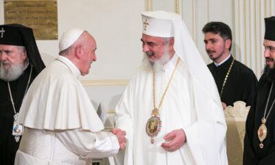 Papa Francisc, mesaj pentru Patriarhul Daniel de ziua lui! Ce i-a transmis Suveranul Pontif 60