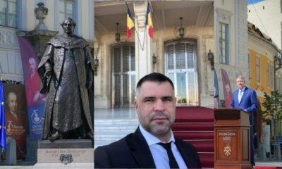 Newsbucuresti.ro: DEZVĂLUIRI / Daniel Ghiță: Iohannis a dezvelit o statuie neautorizată! Statuia baronului Brukentahl NU are aviz de la Ministerul Culturii si autorizatie de construire de la Primaria Sibiu 29